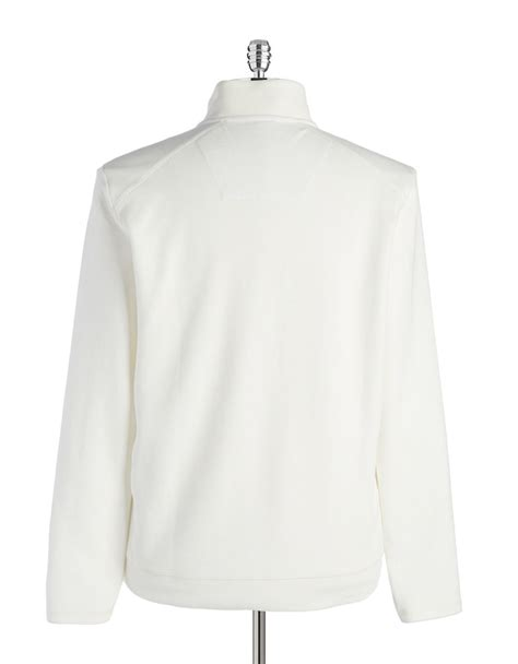 Sweater Snow White calvin klein colorblocked pullover sweater in white for snow white lyst