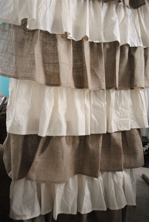 burlap curtains pinterest burlap and linen curtains craft ideas pinterest