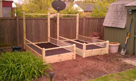 4 Ft Fence With Trellis One 3x10 Ft Pine Raised Bed With 4 Foot Trellis And Fencing