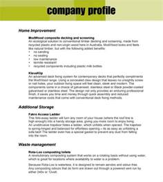 Company Profile Template Microsoft Publisher by 32 Free Company Profile Templates In Word Excel Pdf