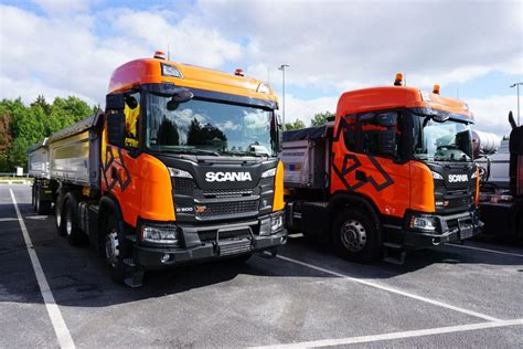 scania xt der neue scania f 252 r den bau eurotransport