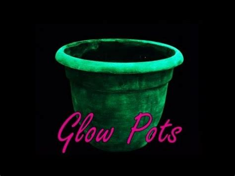 Glowing Planter Pots by Best 25 Glow Pots Ideas On Rustoleum Paint Indoor Solar Lights And Solar Lights