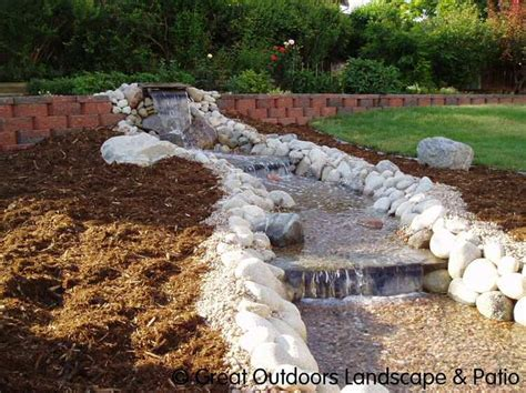easy backyard water features landscaping water features