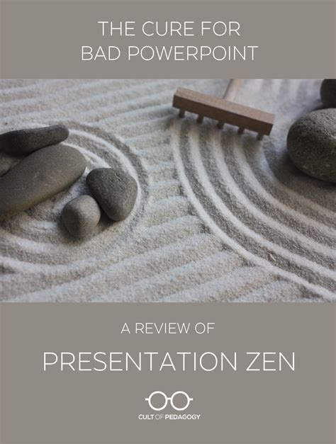 zen presentation templates the cure for bad powerpoint a review of presentation zen