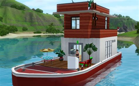 sims 3 house boats let s play the sims 3 island paradise building a houseboat youtube