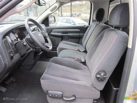 2005 dodge ram daytona seat covers slate gray interior 2005 dodge ram 1500 slt daytona