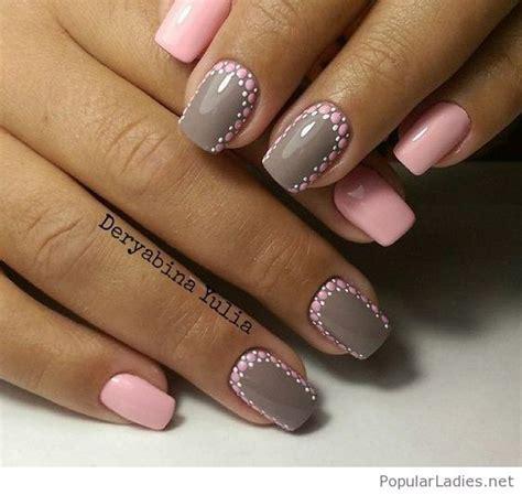 Pink Nail Gel Designs