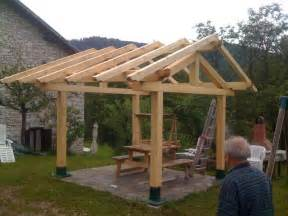 Picture Of Homemade Gazebo by Flat Roof Patio Gazebos Joy Studio Design Gallery Best