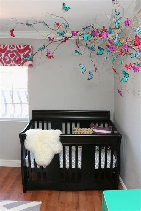 Butterfly Nursery Decor Best 25 Butterfly Mobile Ideas On Diy Butterfly Origami Mobile And Chandelier With