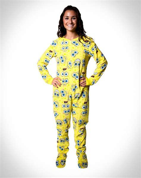 Pajama Wish spongebob footie pajamas grocery list wish list products spongebob and pajamas
