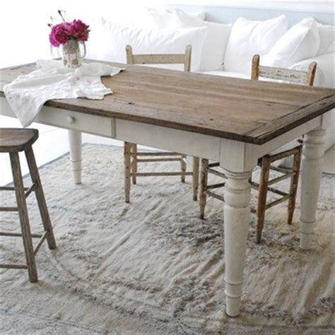 Painted Esszimmertisch by Best 25 Shabby Chic Dining Ideas On Shabby