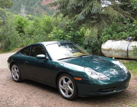 dark green porsche 2001 porsche 911 carrera coupe 2 door 3 4l dark green