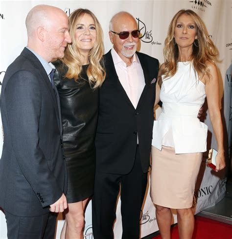 celine dion and rene biography celine dion rene angelil and friends photo who2