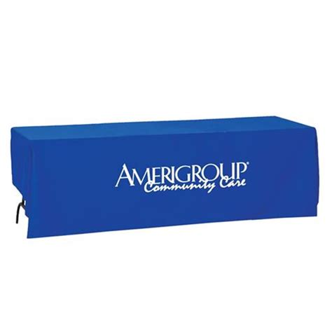 Trade Show Table Cover by Trade Show Standard 8 Foot Table Cover Positive Promotions
