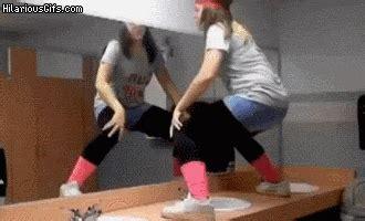 girl twerking in bathroom chun li vs twerking hilariousgifs com