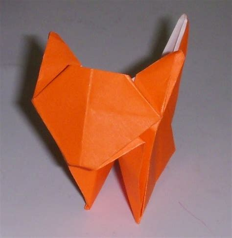 How To Fold An Origami Cat - origami origami cat