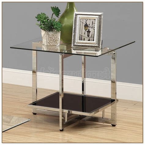Glass End Tables For Living Room Glass Tables Living Room