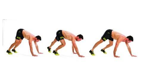 build abs with a bear crawl | coach
