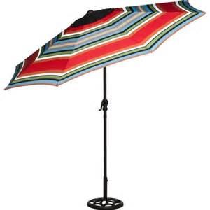 Striped Patio Umbrellas Striped 9 Foot Outdoor Steel Patio Tilt Polyester Umbrella Stripe Patio Umbrella