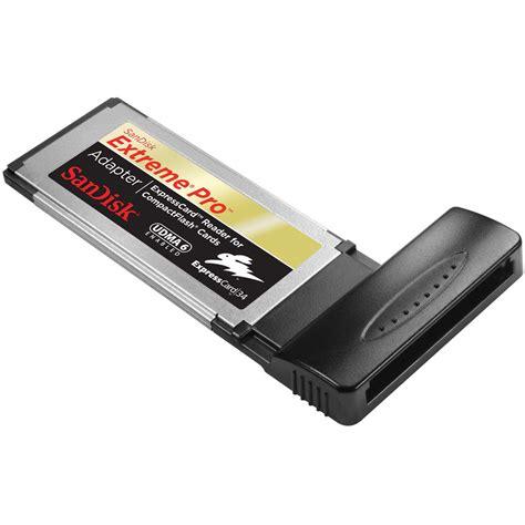 Sandisk Adapter sandisk pro expresscard adapter sdadx6 cf g20 b h photo