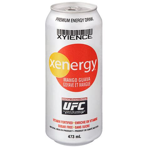 energy drink xyience xyience xenergy mango guava 473 ml drugs