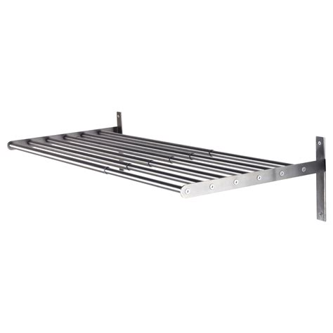 metal rack ikea grundtal drying rack wall stainless steel 67 120 cm ikea