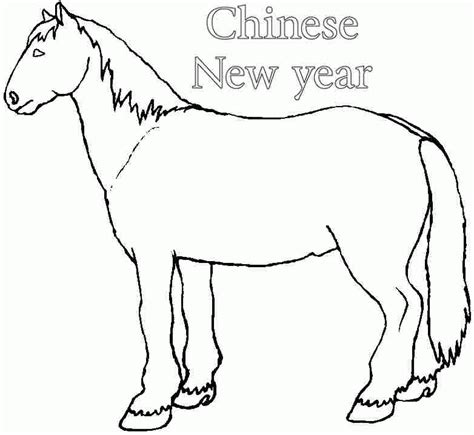 new year coloring pages pdf printable wooden horse chinese new year 2014 coloring
