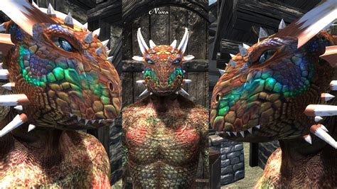 request sos textures for feminine argonian and khajiit pin argonian oblivion mods on pinterest