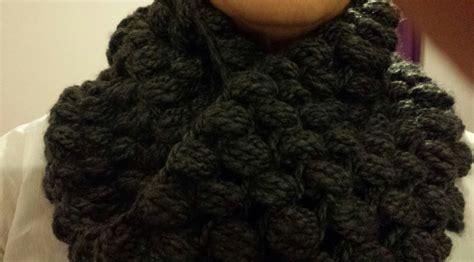 bufanda cuello en crochet o ganchillo de lana o estambre cuello circular a crochet punto puf subtitulado espa 241 ol