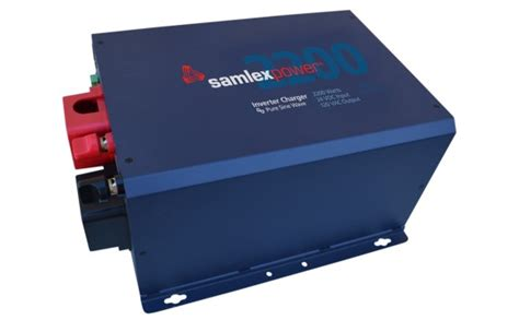 evo charger samlex evo 2224 sine inverter charger with battery