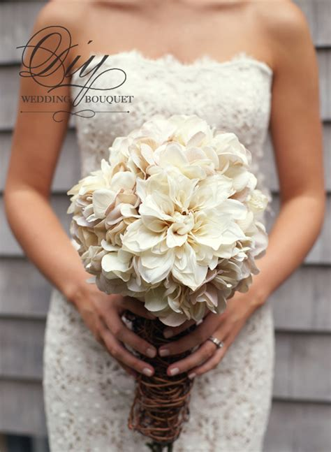 Wedding Bouquet Mums by Diy Hydrangea And Bouquet