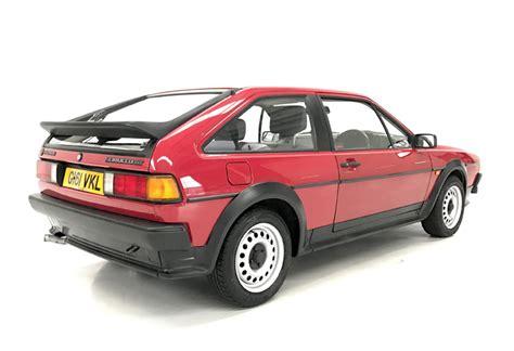 volkswagen scirocco 1990 1990 vw scirocco gt auto stone cold classics