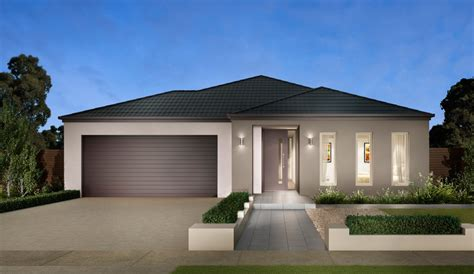 3 Bedroom House Plans One Story by Facades Modern House Facades Carter Grange