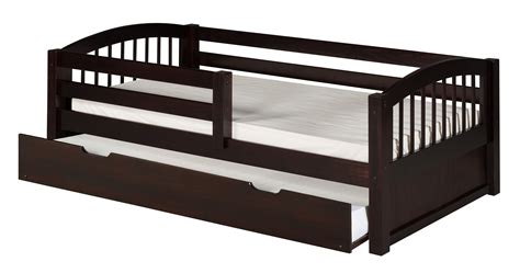 guard rail for twin bed camaflexi twin size day bed with front guard rail twin trundle arch spindle