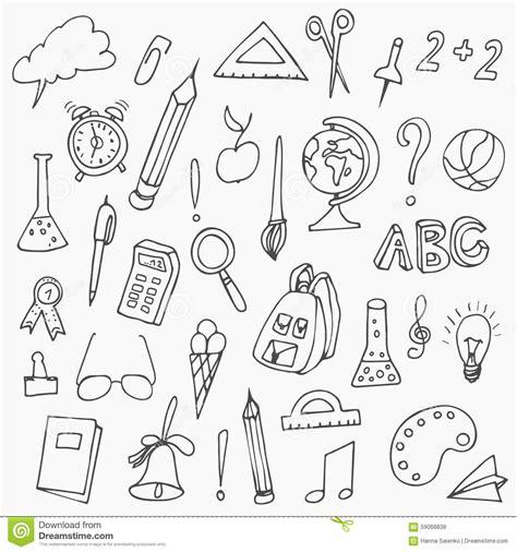 school doodle free vector back to school doodles vector illustration of