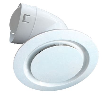 Ceiling Duct white plastic ceiling vent 150mm duct connector