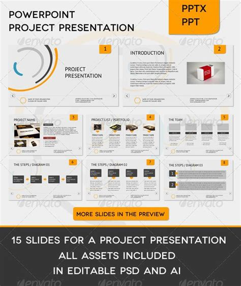 Shape The O Jays And Need To On Pinterest Simple Ppt Templates For Project Presentation