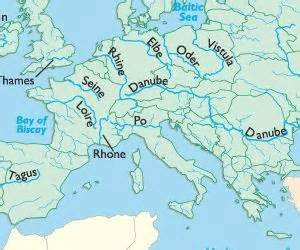 Rivers Of Europe Map by Europe River Cruises Cc Cycle 2 Pinterest
