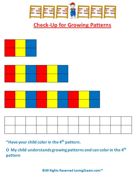 increasing pattern activities super subjects mighty math patterns and algebra