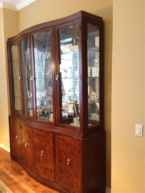 china cabinet in living room china cabinet thomasville bogart bel air and dining