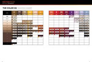 paul mitchell xg color chart the color xg from paul mitchell 174