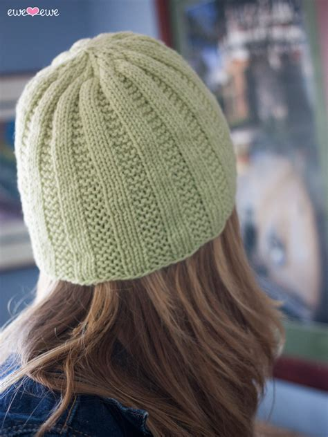 free knitting pattern simple hat free knitting pattern cottage cap easy hat pattern