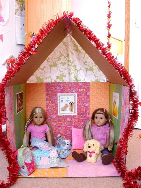 doll crafts for american doll play doll craft make a clubhouse for