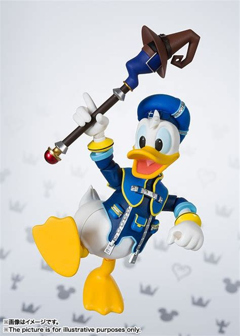 Donald Bandai by Figurine Kingdom Hearts Ii Donald Duck S H Figuarts