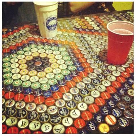 beer bottle cap bar top 17 best images about garage signs art on pinterest