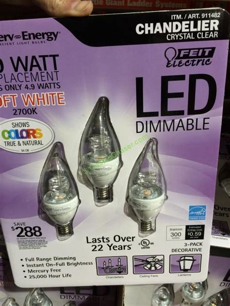 costco led light bulbs costco 911482 led light bulbs chandelier 3pack jpg