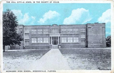Hernando County Florida Court Records History Of Hernando High School Brooksville Florida