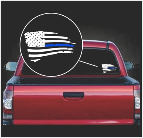 Blue Lives Matter Window Sticker