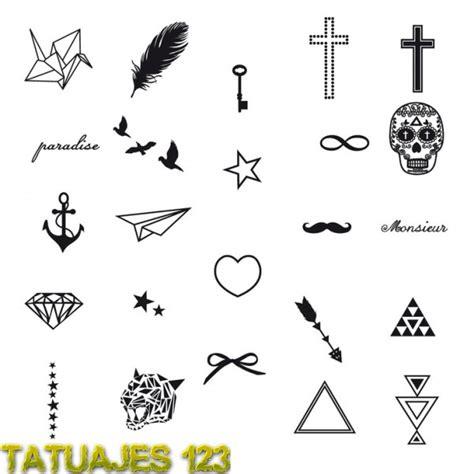 imagenes tatuajes pequeños dibujos peque 241 os para tatuajes imagui