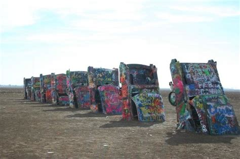 cadillac ranch mx foto de cadillac ranch amarillo cadillacs in a row